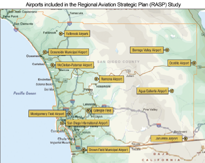 Airports Included In The Regional Aviation Strategic Plan (pdf)