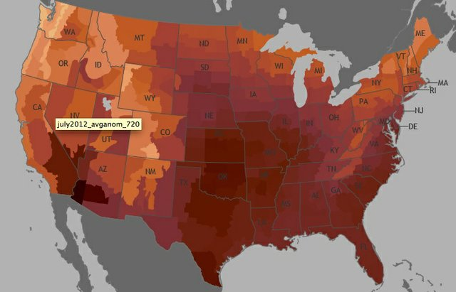 NOAA: July 2012 Is Hottest Month Ever Recorded