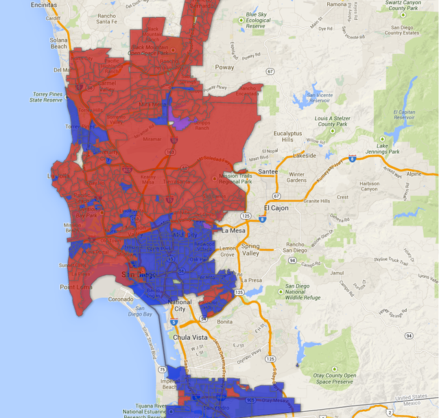 2014 San Diego Mayoral Runoff Election Results