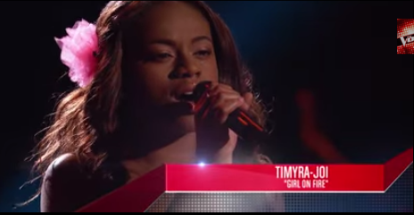 WATCH: Timyra-Joi Beatty Competes On The Voice