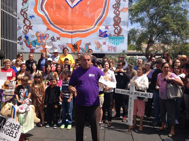San Diego Immigrant Rights Groups Rally In Support Of Migrant Families