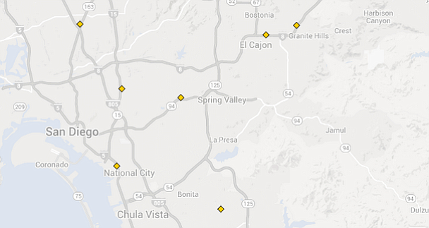 E85 Fuel Pumps In San Diego County