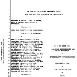 U.S. District Court Prop 8 Ruling