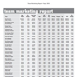 NFL Fan Index