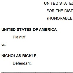 Bickle Defense Motion