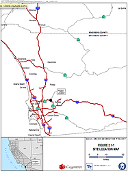 Proposed Location of the Quail Brush Generation Project