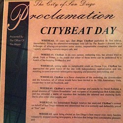 Mayor's CityBeat Proclamation