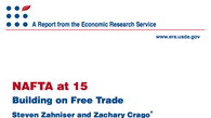 Tease photo: NAFTA at 15: Building On Free Trade