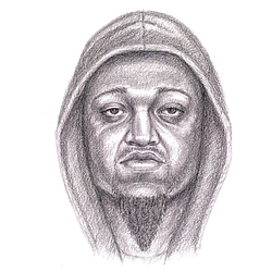 44th Street Homicide Suspect Sketch