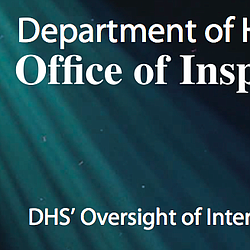 DHS's Oversight of Interoperable Communications Report