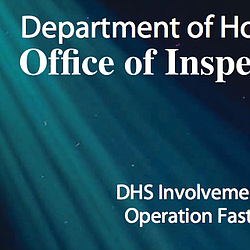 DHS Involvement In Operation Fast And Furious