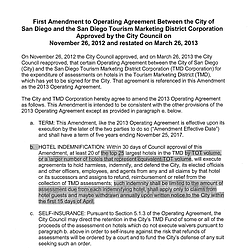 Amended TMD Agreement