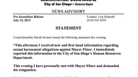 Tease photo: David Alvarez's Statement