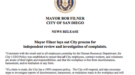 Tease photo: Filner: Investigation Will Support My Innocence