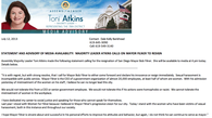 Tease photo: Toni Atkins' Statement