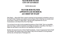 Tease photo: Mayor Appoints Lee Burdick As Chief Of Staff