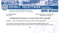 Tease photo: Kevin Faulconer's Statement