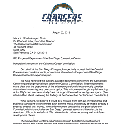 New Chargers Stadium Proposal