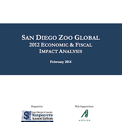 2012 San Diego Zoo Global Economic Impact Report