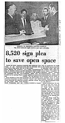 8,520 Sign Plea To Save Open Space