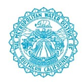 Metropolitan Water District of Southern California statement