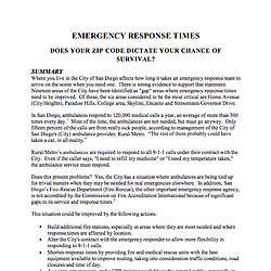 Grand Jury Report On Ambulance Response Times