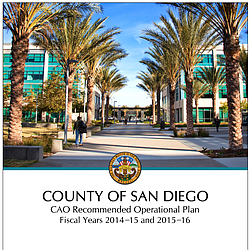 County of San Diego CAO Recommended (formerly Proposed) Operational Plan