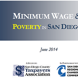 Minimum Wage and Poverty in SanDiego