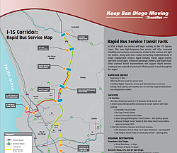 Rapid Bus Service Map And Facts