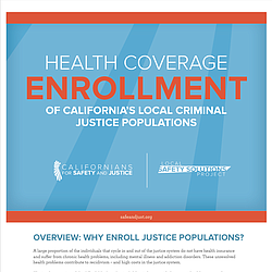 Health Coverage Enrollment Of California's Local Criminal Justice Populations