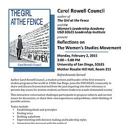 Event: Reflections on the Women's Studies Movement