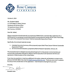 Rose Canyon EPA Permit