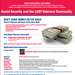 Social Security and the LGBT Veteran Community