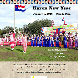 Karen New Year Celebration