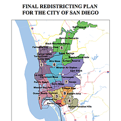 San Diego Map City.How San Diego S Redistricting Map Could Shortchange Democrats Kpbs