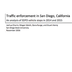 Analysis Of San Diego Police Department Stops I...