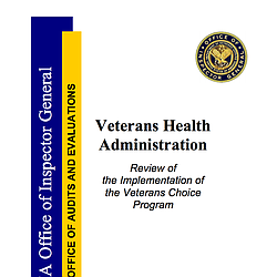 Review Of Implementation Of The Veterans Choice...
