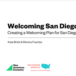 Welcoming San Diego Kick Off