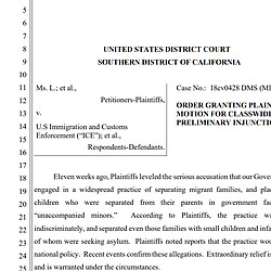 Judge Order Families Separated At Border To Be ...