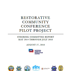 Restorative Community Conference Pilot Program ...