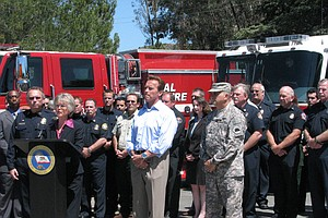 Tease photo for Schwarzenegger Urges Passage of Props to Ensure Firefighting Resources
