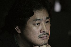 Tease photo for Park Chan-Wook Coming to Comic-Con
