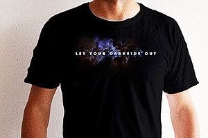 Tease photo for Resident Evil T-shirt: Let Your Dark Side Out!