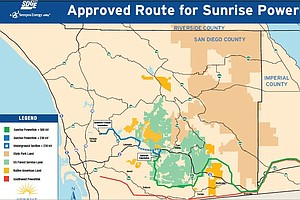 SDG&E Doesn't Expect Lawsuit To Derail Sunrise Powerlink ...