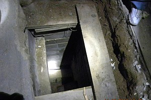 Emergency Call Leads Mexican Law Enforcement To Tunnel in...