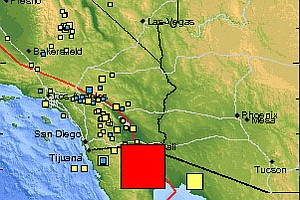 7.2 Earthquake Shakes San Diego Region