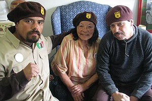 Brown Berets Of Barrio Logan Unite To Protect Community