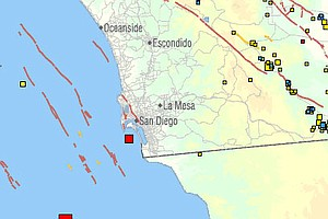 Two Offshore Earthquakes Rattle San Diego, Baja California