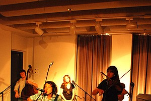 Joel P. West And The Tree Ring Perform In Studio