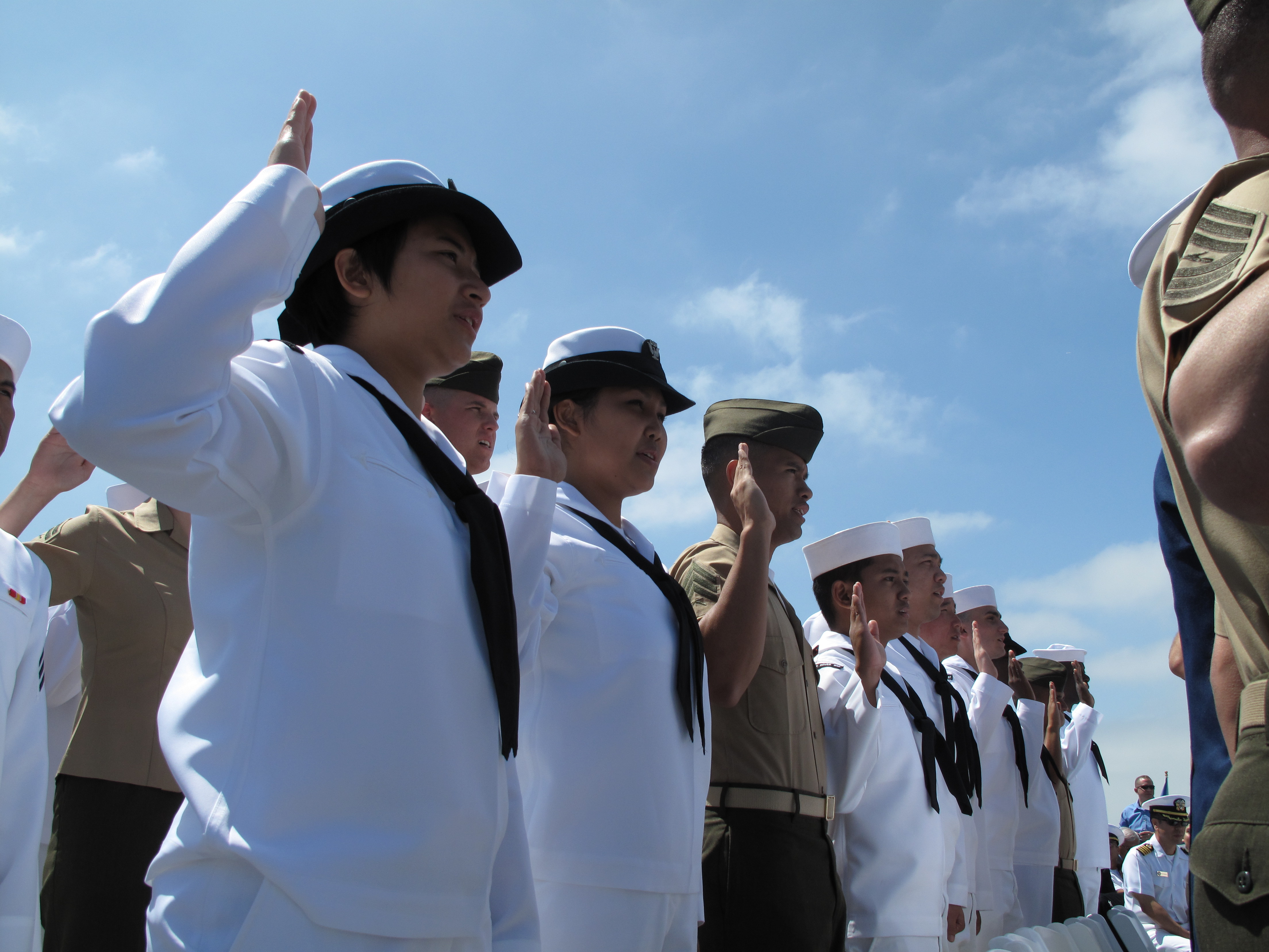 Largest All-Military Naturalization Ceremony Hosted In San